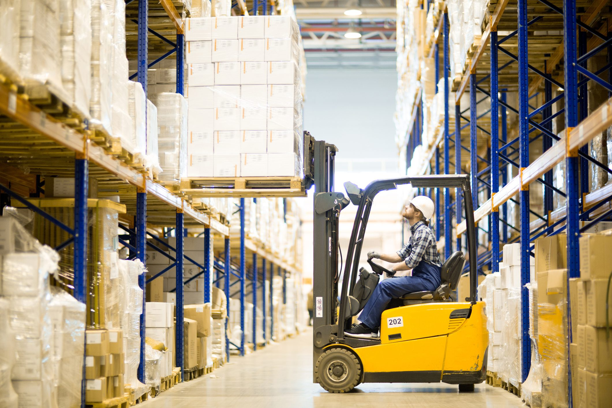 Practice Safe Driving When Operating a Forklift